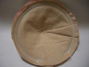 母乳パッドジグザグ縫い全体図