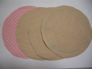 母乳パッド 布材料