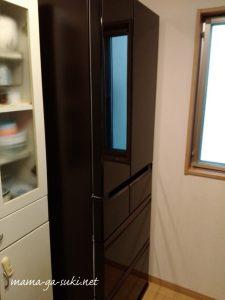 買い替えて搬入した冷蔵庫