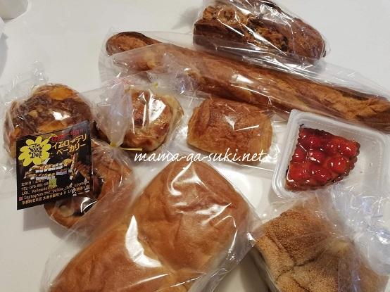 パンマルシェで買ったパン