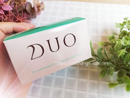 薬用DUOクレンジングバームバリア 箱